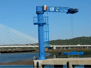 Summit Cranes Port Jib Gantry Crane